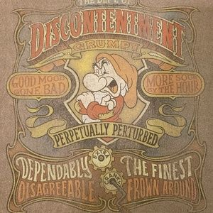 Vintage Disney Grumpy tshirt